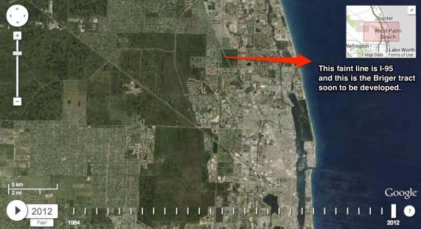 2012 from Google Earth timelapse