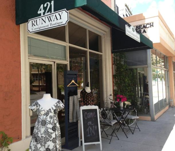 Runway Consignment Boutique, 421 south Olive Avenue