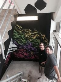Eduardo Mendieta and another artist