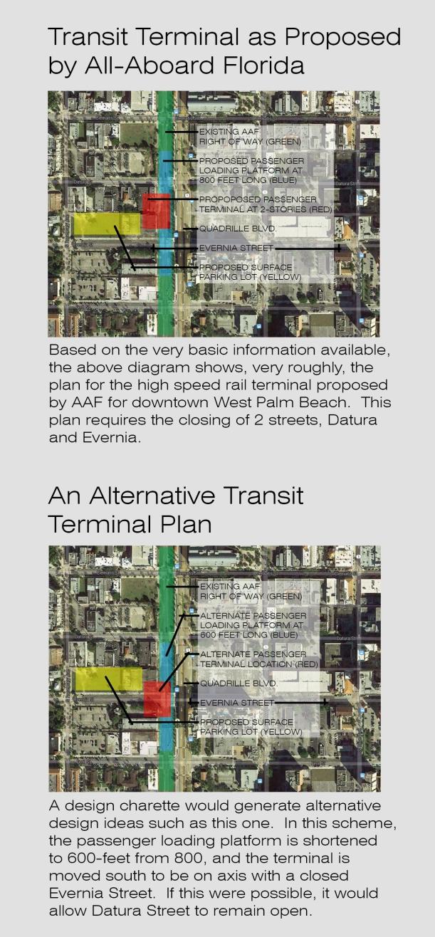 AAF's WPB Terminal Needs More Design Options