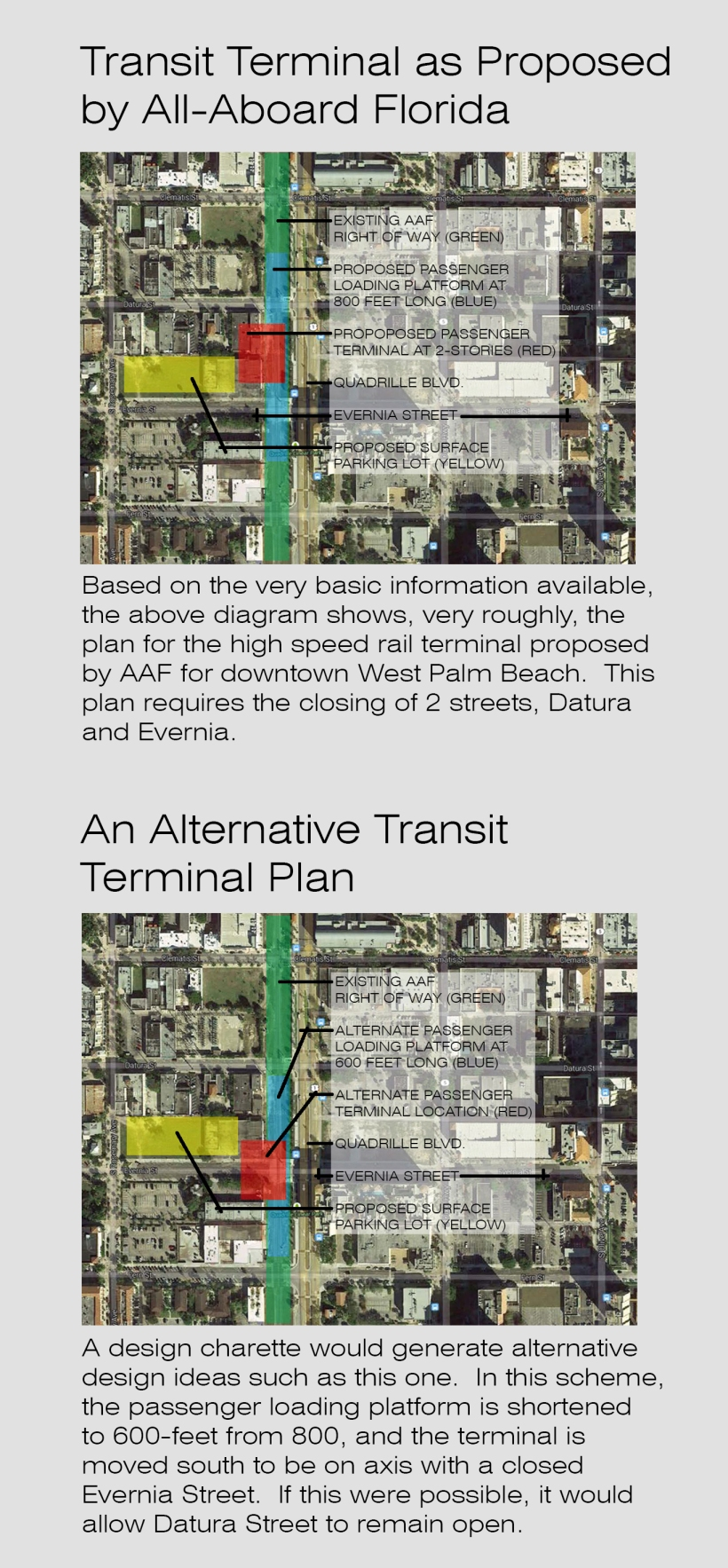 AAF's WPB Terminal Needs More Design Options