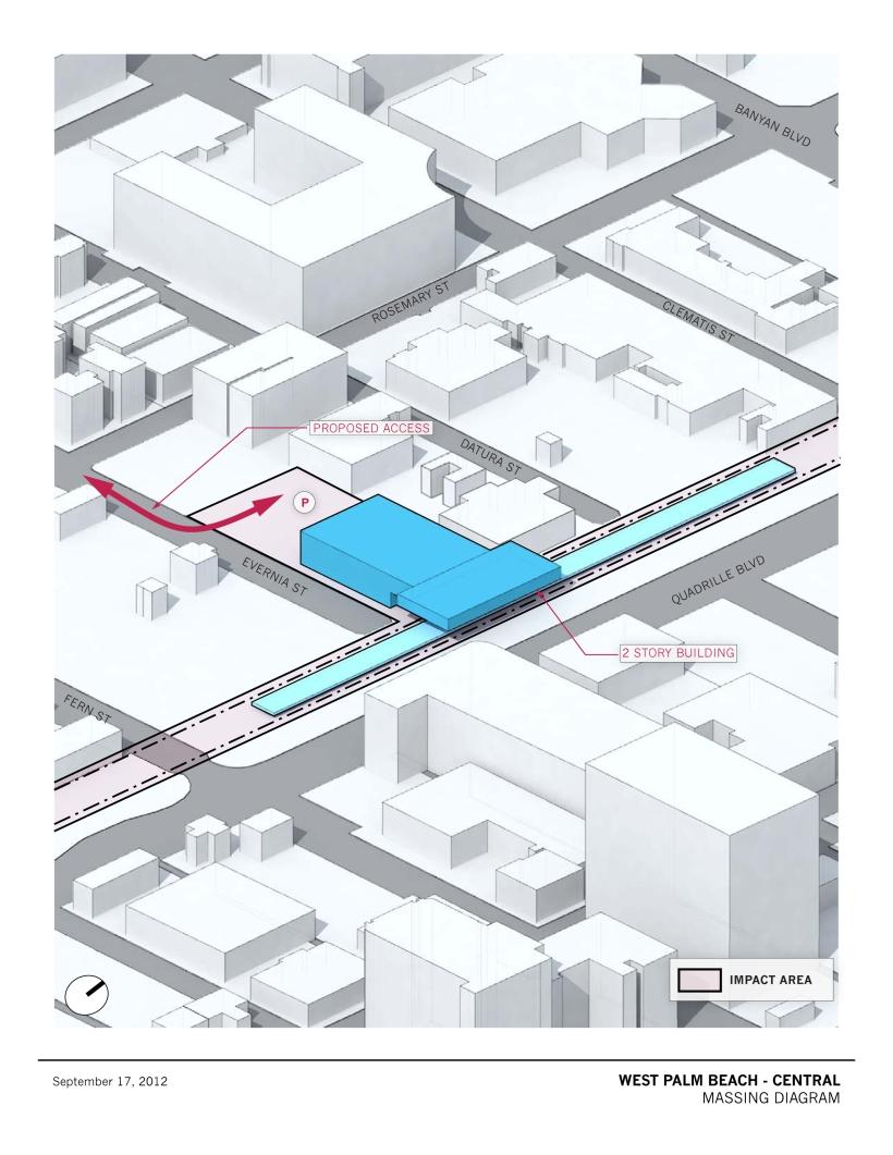 WPB Transit Station Concept
