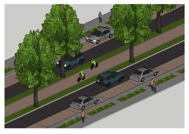 Proposed Fern St. - WalkableWPB poll winner