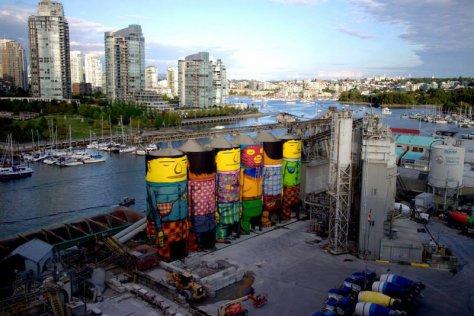 OsGemeos, Vancouver, Canada, 2014