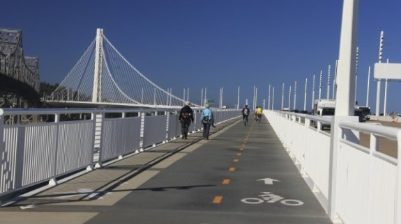 San Francisco-Oakland Bay Bridge Protected Bike Lanes