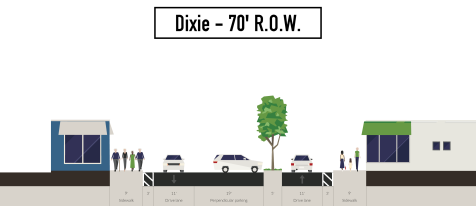 dixie-70-row-median-angled