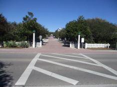 Crosswalk and street